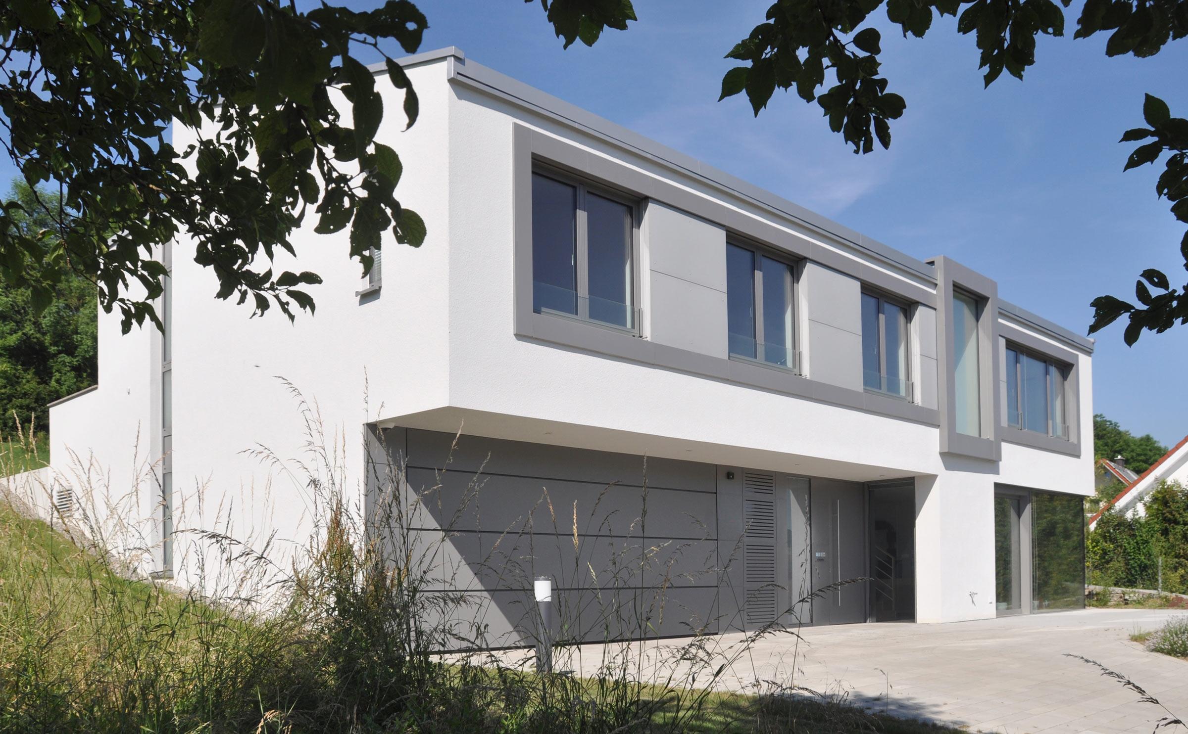 Lurz von Brunn Plusenergiehaus Wittighausen Aussenansicht