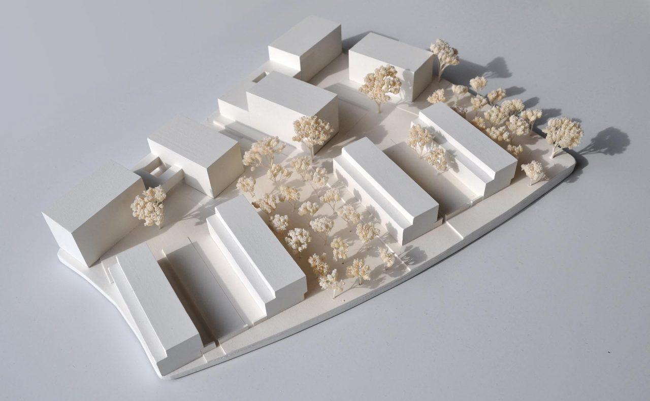 Lurz von Brunn Hefner-Alteneck-Quartier Aschaffenburg Modell