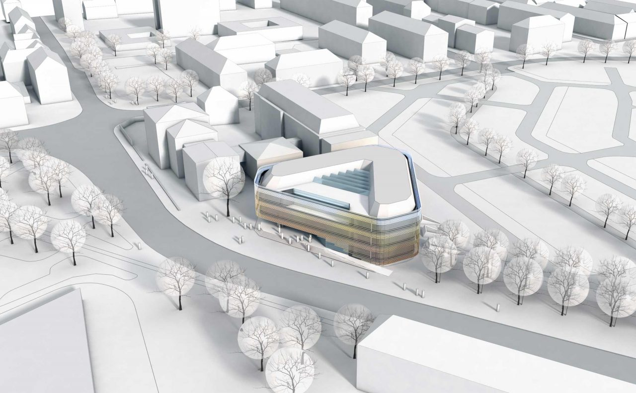 Fraunhofer Institut Planung Modell