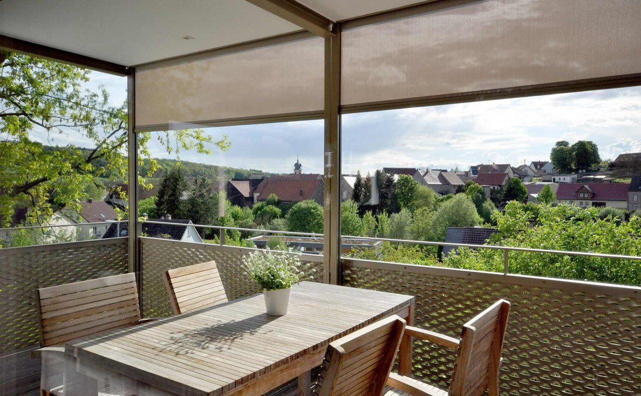 Wohnhaus Wittighausen Balkon