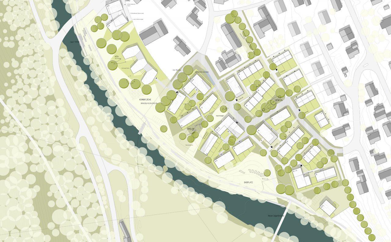 Städtebauliches Konzept M 1_500